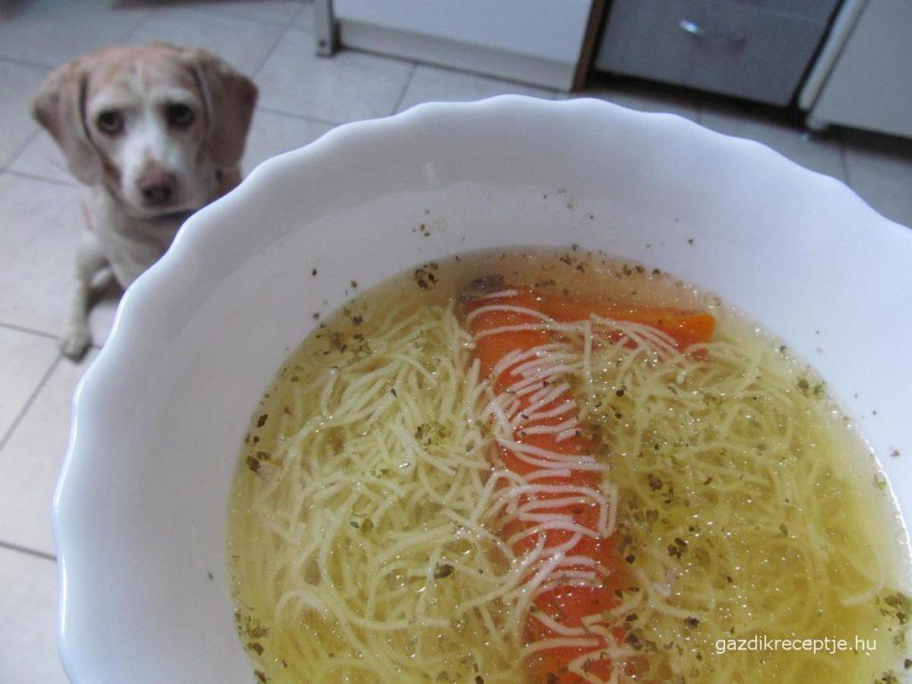 Húsleves tésztával
