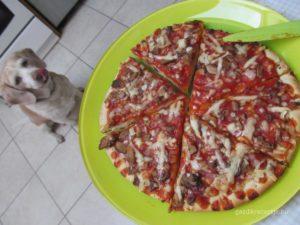 Beigli pizza lesen