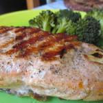 grillezett lazac